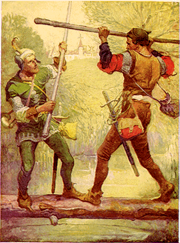 Robin_Hood_and_Little_John2C_by_Louis_Rhead_1912